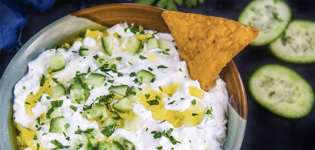 Cucumber Parsley Dip