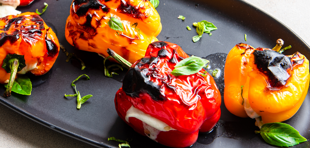 Mozzarella-Stuffed Super Sweet mini peppers