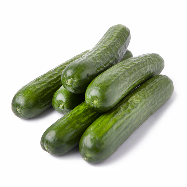 Mini Cucumber Stacked