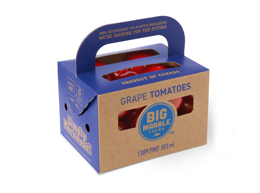 Grape Tomato Paperboard pint