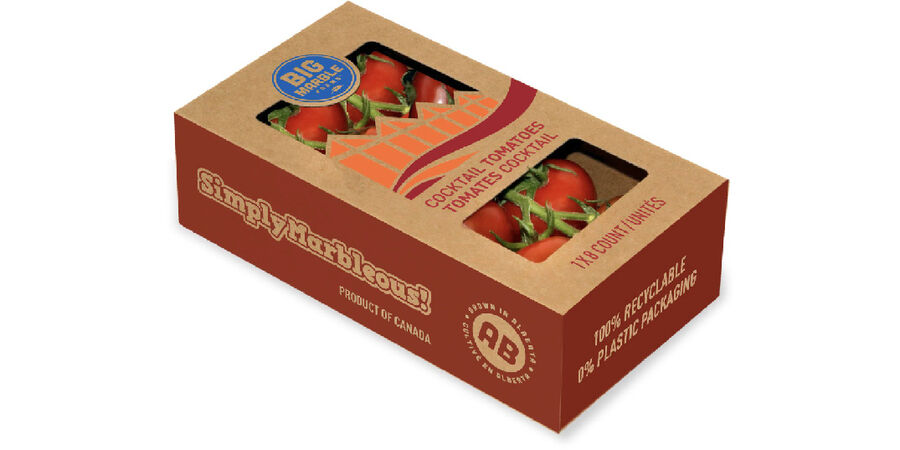 Cocktail Tomatoes in Sustainable Packaging